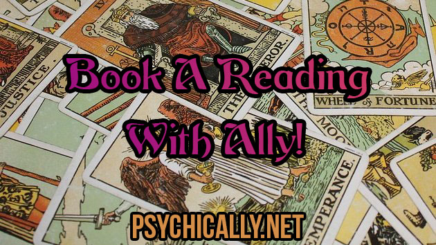Book A Reading With Ally!