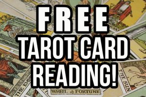 FREE TAROT CARD READING!