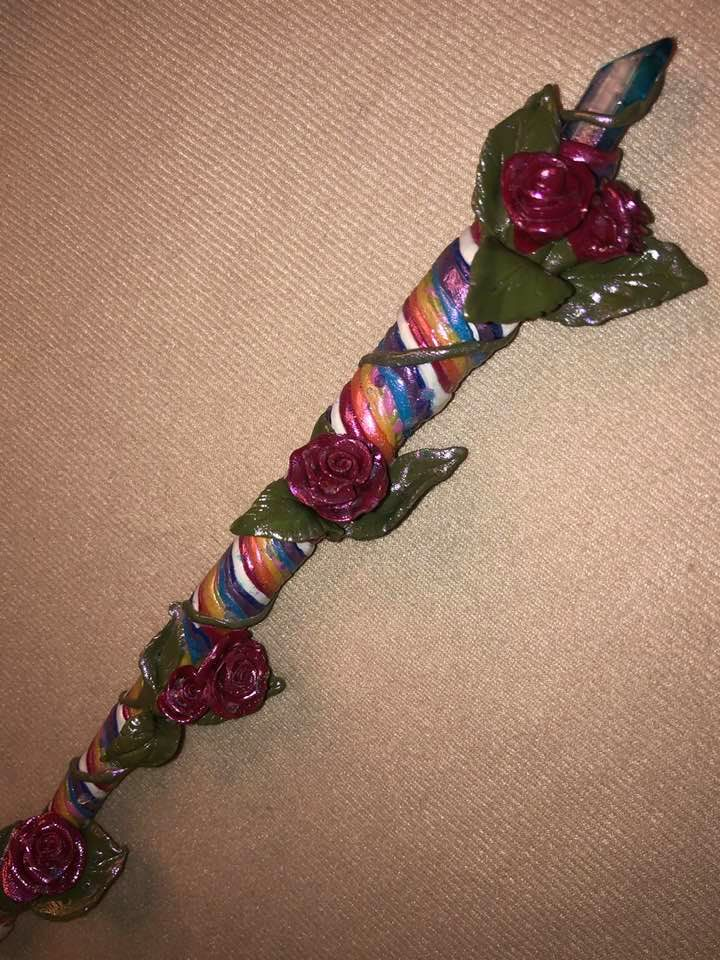 Rose Wand
