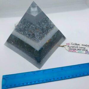 Custom Orgone Pyramid Lamp