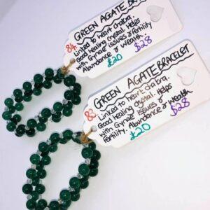 Green Agate Heart Chakra Bracelet