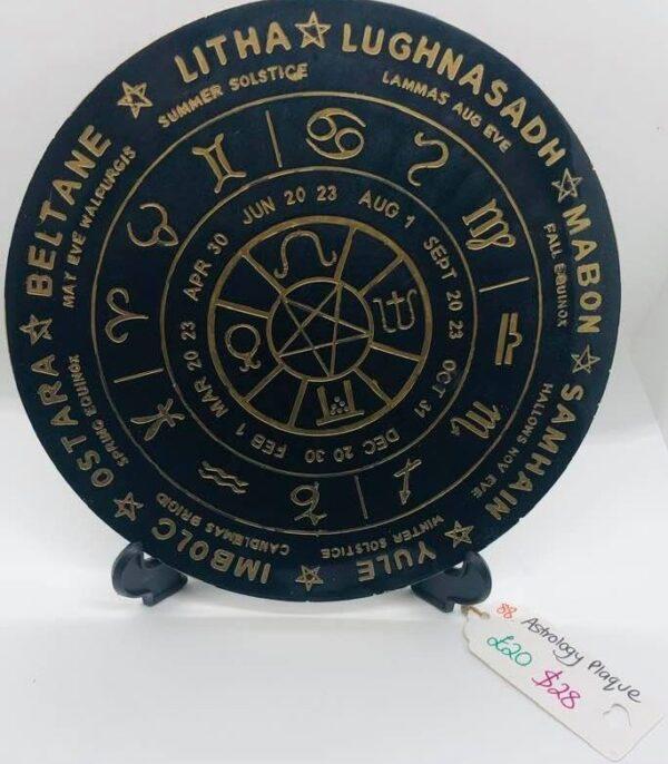 Astrology Plaque