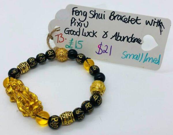 Feng Shui Bracelet with Pixiu