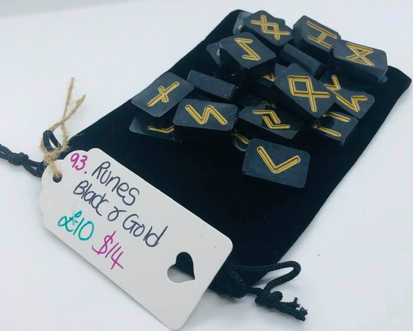 Runes - Black and Gold